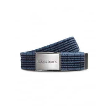 Jack & Jones Jack and Jones Adults Designer Tom Woven Belt Total Eclipse