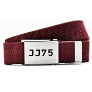 Jack and Jones Designer Dna Woven Belt Burgundy
