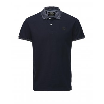 Jack & Jones Casual Part Polo Shirt Navy Blazer