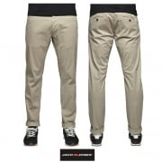 Jack & Jones Mens New Bolton Dean Chinos White Pepper