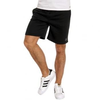 Jack & Jones Mens Quilt Sweat Shorts Black