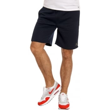 Jack & Jones Mens Quilt Sweat Shorts Dress Blue