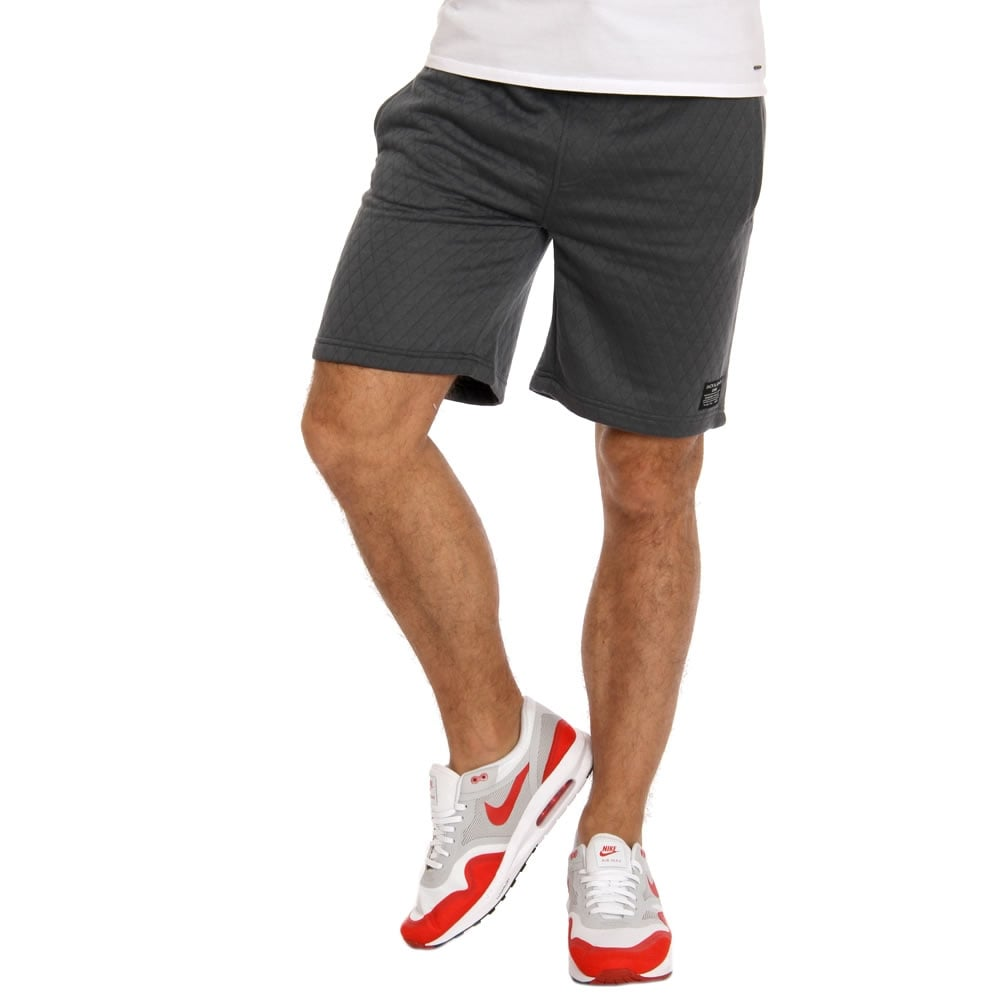 Jack & Jones Mens Quilt Sweat Shorts Turbulence ...