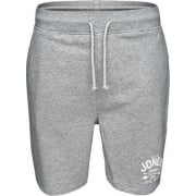 Jack & Jones Mens Ronnie Sweat Shorts Grey Melange