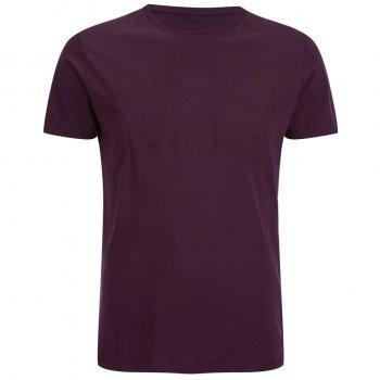 Jack & Jones Rupert Embossed Casual Designer T Shirt Fig