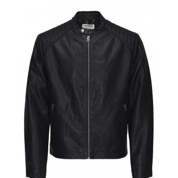 Jack & Jones McNeilson Casual Biker Jacket Black