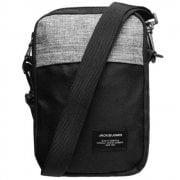 Mens Branded Jack and Jones Strap Zip Stuhr Sling Bag Size H 20 cm x W 13 cm