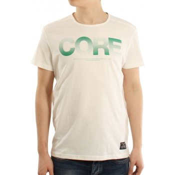 Jack & Jones Mens Casual Shine Crew Neck T-Shirt Lilly White