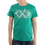 Mens Casual Shine Crew Neck T-Shirt Pepper Green