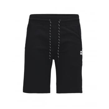 Jack & Jones Mens Corun  Sweat Shorts Black