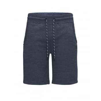 Jack & Jones Mens Corun  Sweat Shorts Navy Blazer