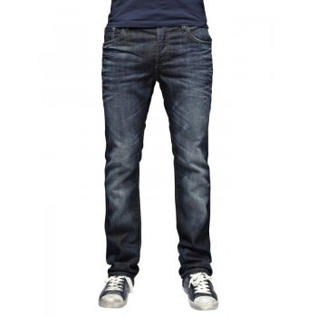 "Jack & Jones Mens Jack & Jones 36"" Leg Designer Clark Regular Fit Jeans 218"