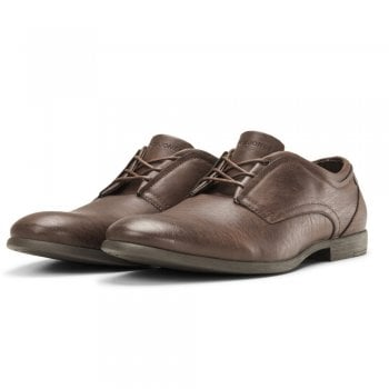 Jack & Jones Mens JFWTrinity Formal Pu Leather Shoes Java
