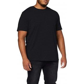 Jack & Jones Men's Jjeorganic Basic Tee SS O-Neck Noos Kingsize T-Shirt Black