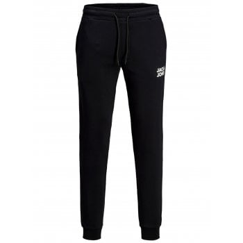 Jack & Jones Mens JJIGORDON Sweat Pant Jogger Bottoms Black