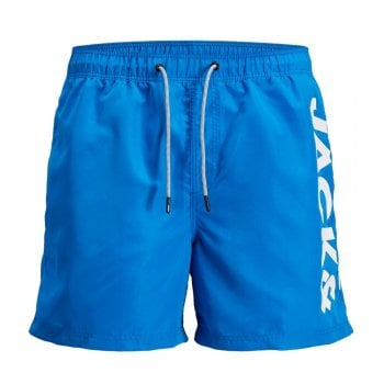 Jack & Jones Mens New Branded JJIARUBA Swim Shorts French Blue