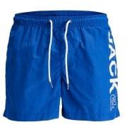 Jack & Jones Mens New Branded Sunset Swim Shorts Surf The Web