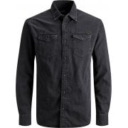 Jack & Jones Mens Vintage New Sheridan Denim Shirt Black Denim