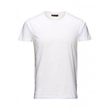 Jack & Jones Plain Classic Crew Neck T-Shirts Regular Fit White