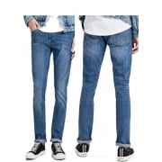 Jack & Jones Tim 420 Original Slim Fit Jeans Mid Used Look