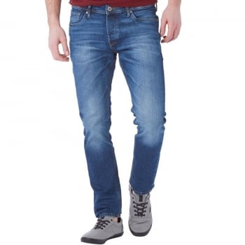 Jack & Jones Tim 984 Original Slim Fit Jeans Mid Used Look