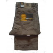 """Kam 38"""" Leg Relaxed Fit Marco Jeans Tobacco"""