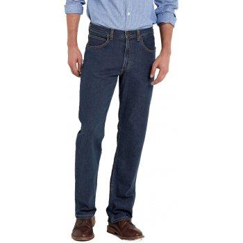 "Lee Jeans Brooklyn 36"" Leg Regular Comfort Fit Jeans Dark Stonewash"