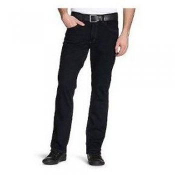Lee Jeans Brooklyn Stretch Regular Fit Twill Jeans Black