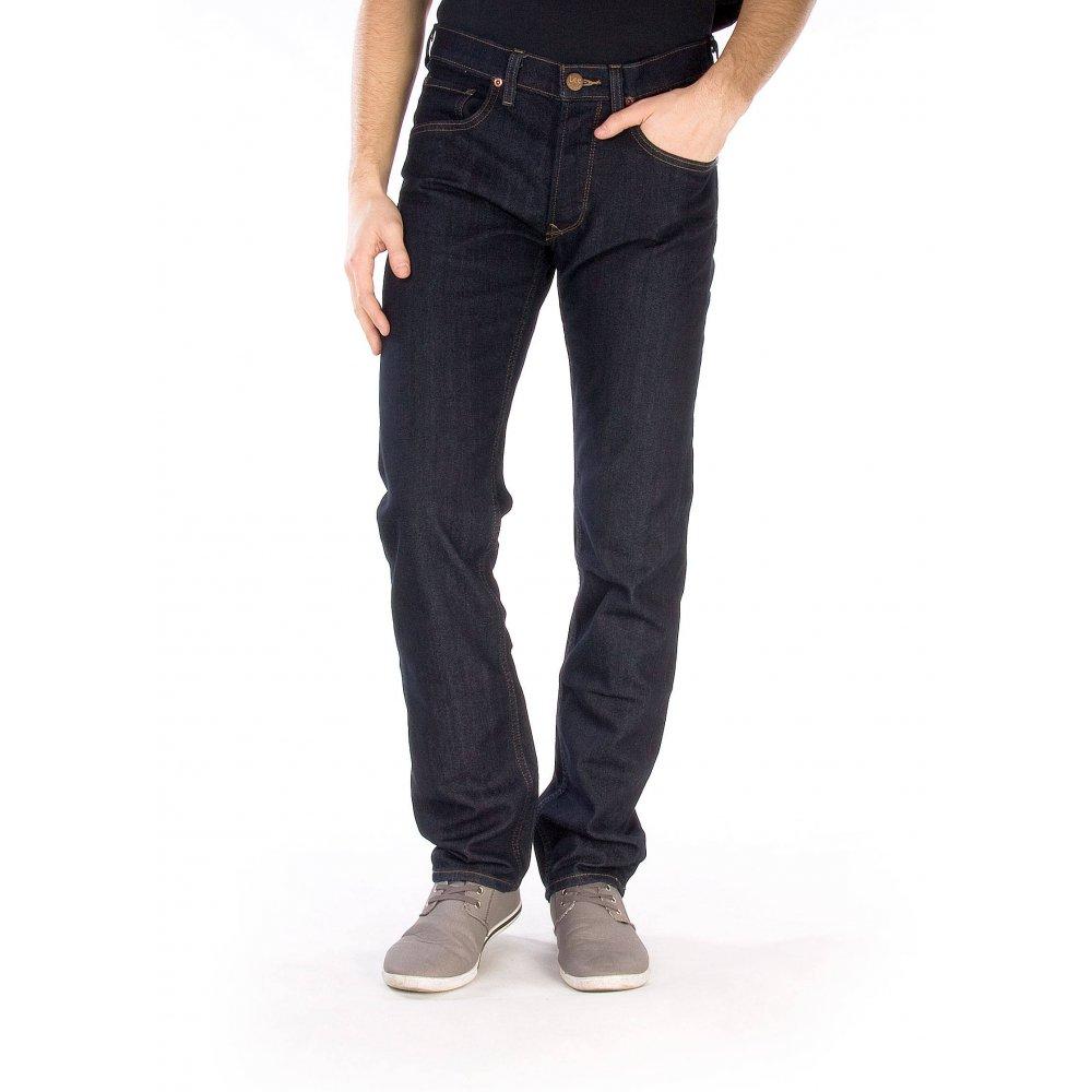 lee daren regular slim fit jeans rinse wash. Black Bedroom Furniture Sets. Home Design Ideas