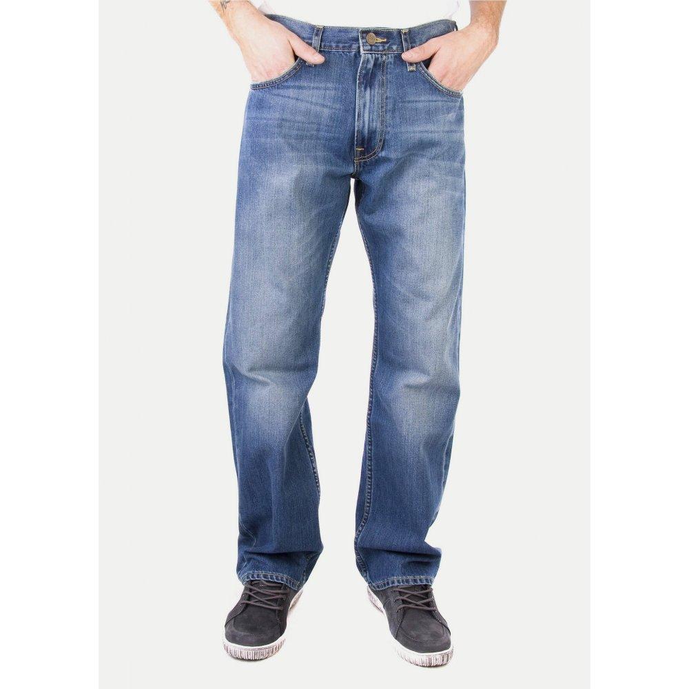 lee kent loose fit light used look jeans. Black Bedroom Furniture Sets. Home Design Ideas