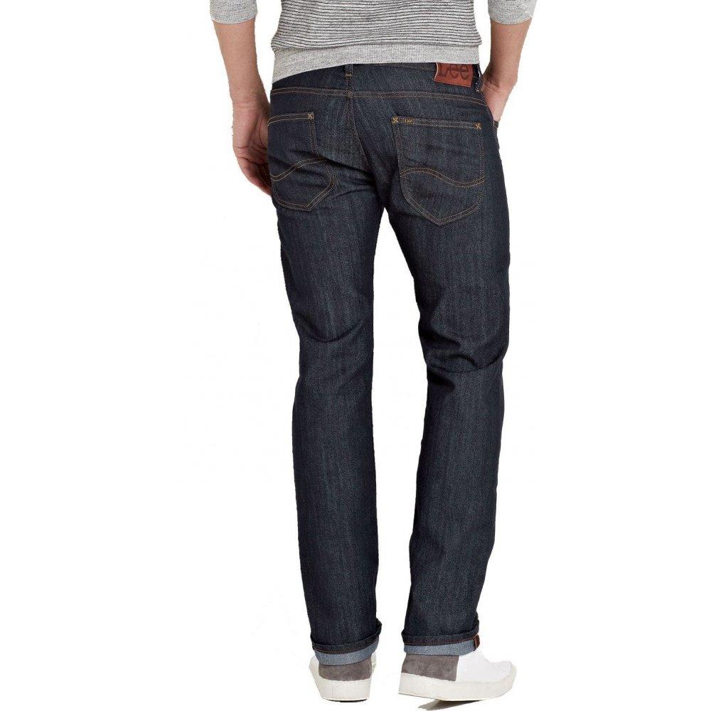 5a86e043 ... Lee Jeans Lee Powell Mens Vintage Slim Fit Jeans Rinse Wash ...