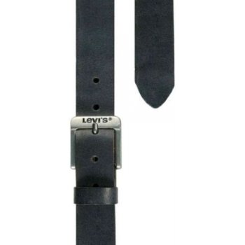 Levi's Leather Authentic Branded Belt 5117 Black