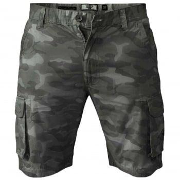 D555 Mens D555 Camo Cargo Shorts Victor Military Army Knee Length Jungle