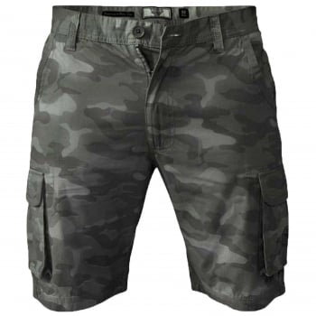D555 Mens D555 Camo Cargo Shorts Victor Military Army Knee Length Khaki