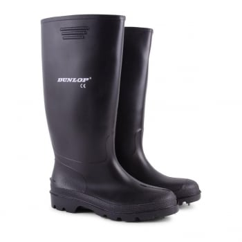 Dunlop Mens Dunlop Hunting Waterproof Walking Wellies Rain Festival Wellington Boots UK Black