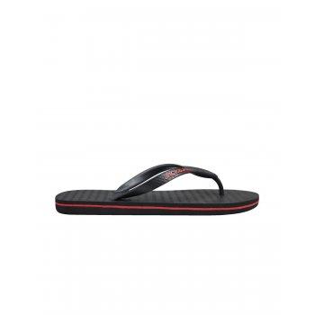 Jack & Jones Mens Jack & Jones New Branded Rubber Flip Flops Sandals Antharcite