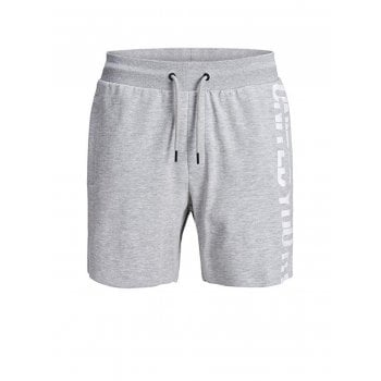 Jack & Jones Mens Jack & Jones New Pops Jogger Sweat Shorts Light Grey