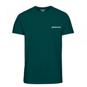 Jack & Jones Mens Jack & Jones New Traffic Designer Classic T Shirt Sea Moss