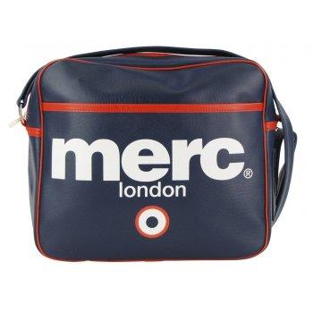 Merc London Air Line Messenger Bag Navy