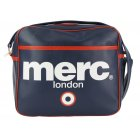 Merc London Air Line Messenger Bag Navy