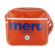 Merc London Air Line Messenger Bag Red
