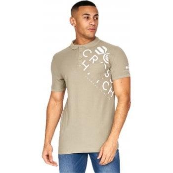 Crosshatch New Crosshatch Lipmare Mens Casual Designer Pique Polo Shirt