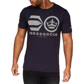 Crosshatch New Crosshatch Mens Hanson Branded Designer Casual T Shirt