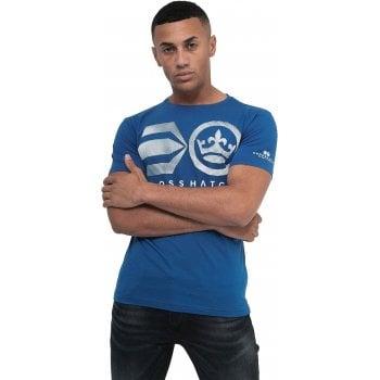 Crosshatch New Crosshatch Mens Laymare Branded Designer Casual T Shirt