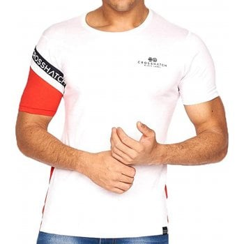 Crosshatch New Crosshatch Mens Leymere Branded Designer Casual T Shirt