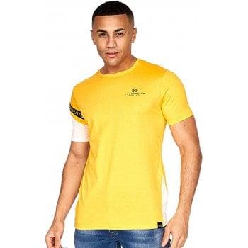 Crosshatch New Crosshatch Mens Leymere Branded Designer Casual T Shirt