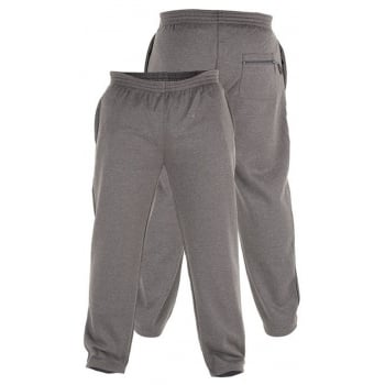 Rockford Jeans Rockford Big Tall King Size Mens Gym Jogging Bottoms Casual Sweatpants Joggers Grey