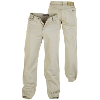 Rockford Jeans Rockford Comfort Fit Large Size Quality Jeans Stone