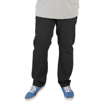 Rockford Jeans Rockford Mens Comfort Fit Large Size Quality Jeans Black