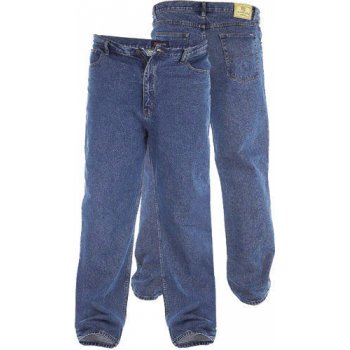 Rockford Jeans Rockford Mens Comfort Fit Large Size Quality Jeans Stonewash Blue
